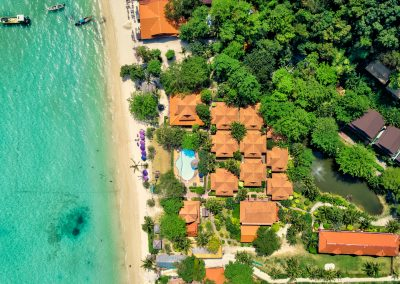 PP Erawan Palms Resort Immobilienfotografen-Berlin Drone Property And Beach