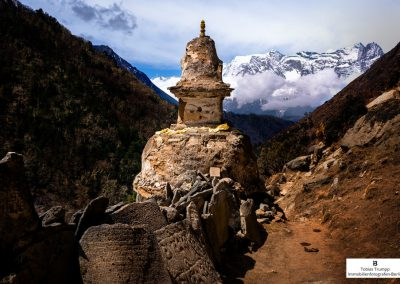 Stupa along everest base camp trek