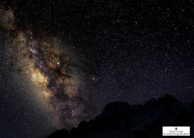 Milky Way above Everest