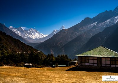 view at the Everest Museum