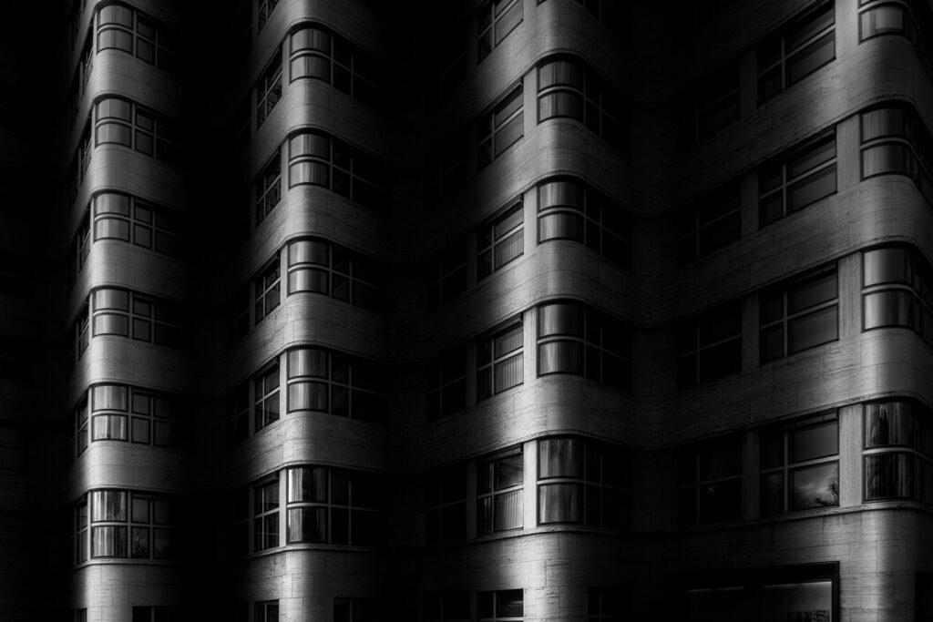 Berlin als fine art Bild in schwarz weiss
