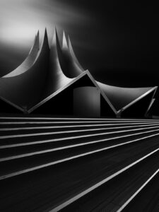 tempodrom berlin fine art black and white